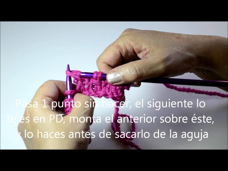 Tutorial cómo tejer Punto Panal - Pearl Knitter