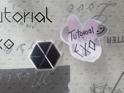 Tutorial logo ~EXO~ ~(* ̄u ̄).