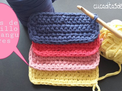Basas de Trapillo rectangulares ¡¡ DIY !!