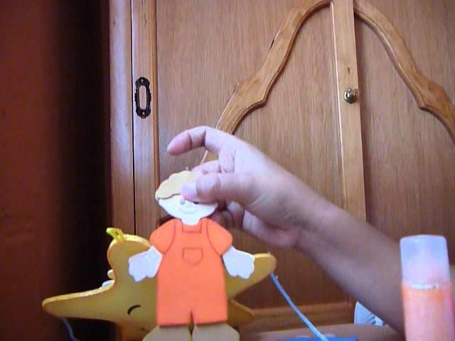 (CERRADO)SORTEO, REGALO DE MOLDES!!! Regalo para baby shower Móvil para bebé (Parte 2)