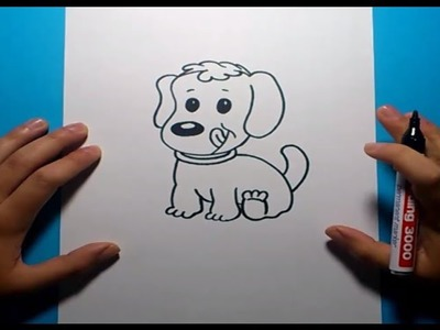 Como dibujar un perro paso a paso 13 | How to draw a dog 13