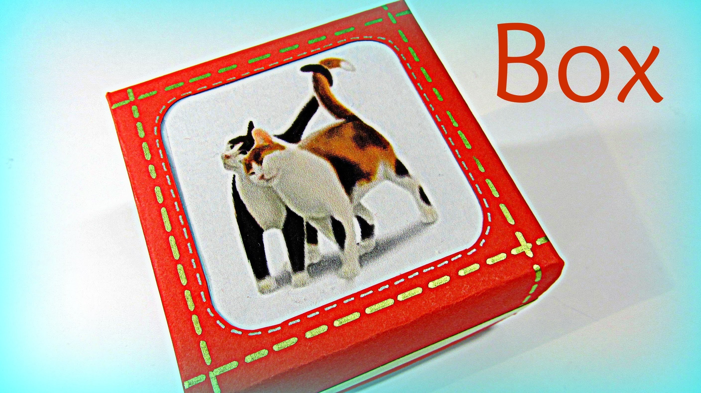 Cómo hacer cajas con portaretrato. Picture frame boxes.