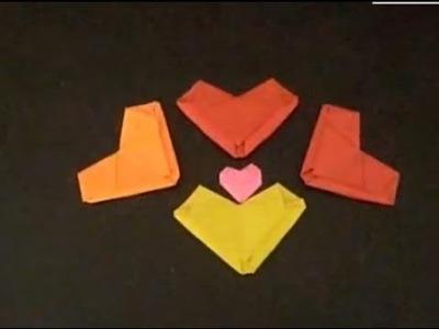 ¿como hacer un corazon de papel ?