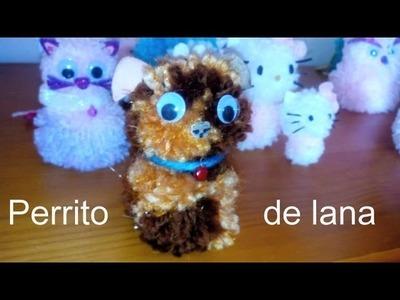 Como hacer un perro de lana