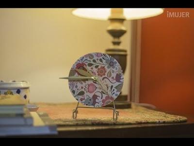 Cómo hacer un reloj con un cd