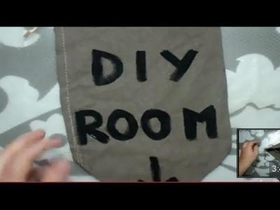 Cómo hacer una bandera tapiz para decorar (DIY) | facilisimo.com