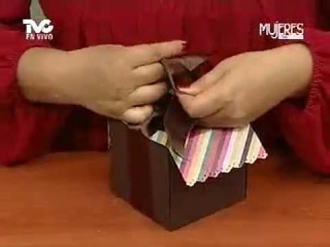 ¿Cómo hacer una Caja para Cupcake? (METVC)