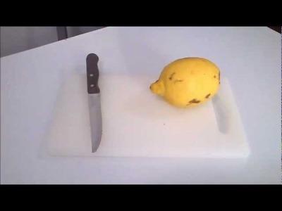 Cómo quitar el mal olor de las tablas de cortar | facilisimo.com