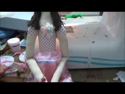 Como se hace una Muñeca Tilda Parte 2