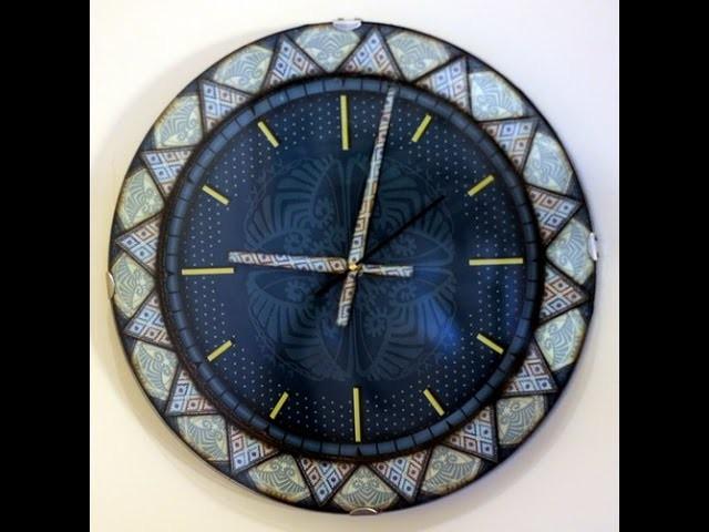 Contracolado Artistico- Reloj - Miguel Lucero