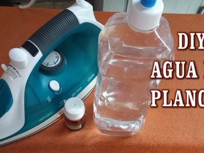 DIY AGUA DE PLANCHA