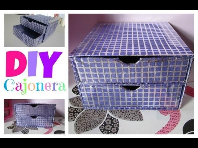 DIY Cajonera ♥ Organización