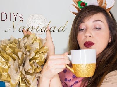 DIY Decoraciones de Navidad ¡MUY fáciles! + ¡Nueva edición curso de coloración!