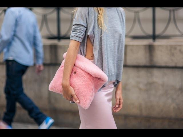 """DIY fácil: un bolso """"fluffy"""" en 10 minutos"""