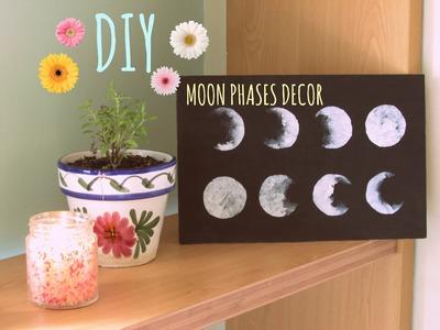 DIY | Moon Phases Decor ☾