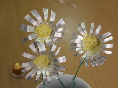 Flor con capsulas de Nespresso #1