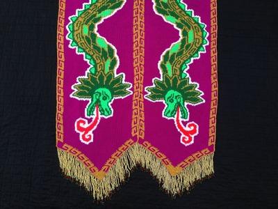 Ganchillo de Tapiz: Colotl & Cohuatl [versión español]