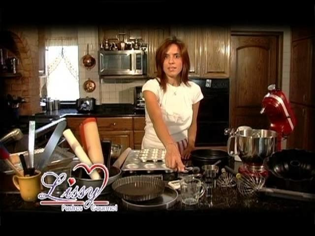 Kit de Pasteleria recomendado, por Chef Lissy Benavides