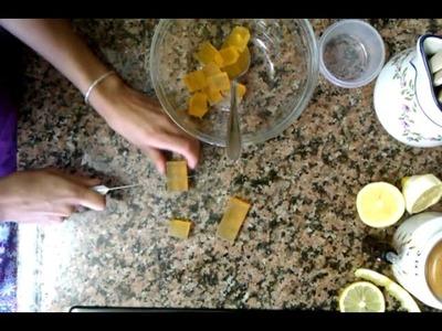 Manualidades: cómo hacer jabones de frutas caseros - Cómo hacer jabón casero