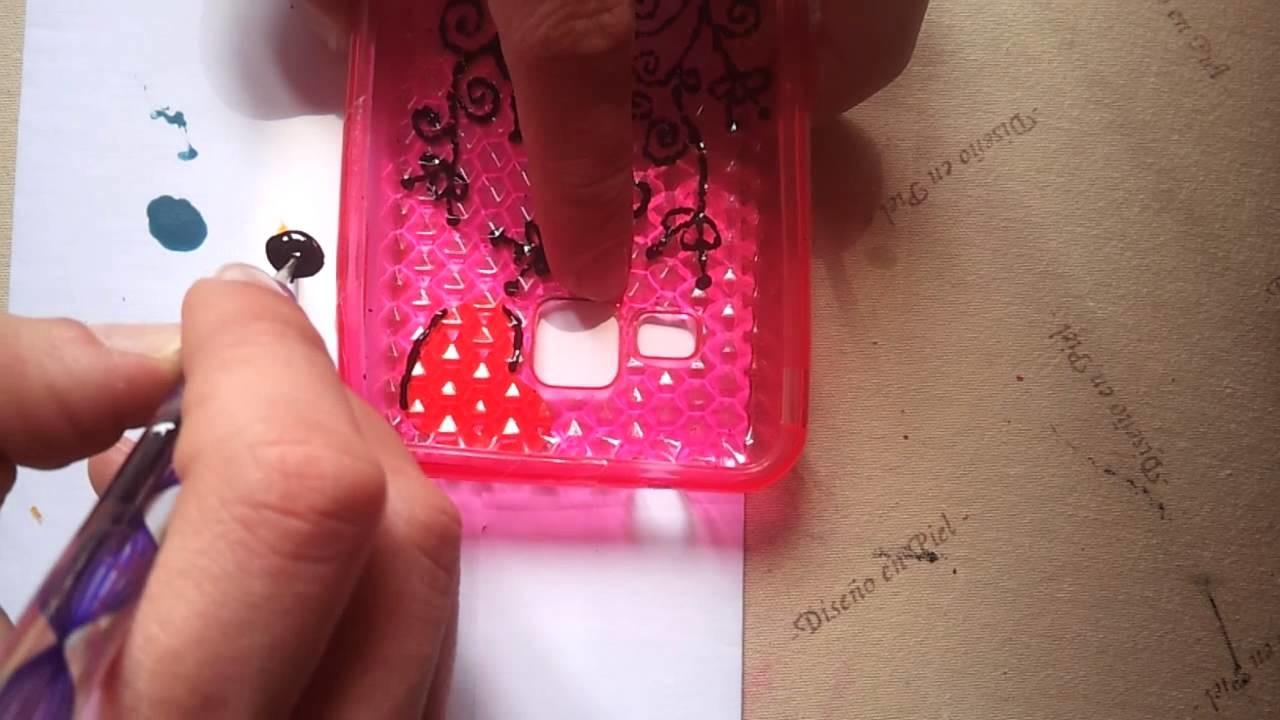 Manualidades e ideas: personaliza tus carcasas de móvil - cómo decorar la funda de tu móvil