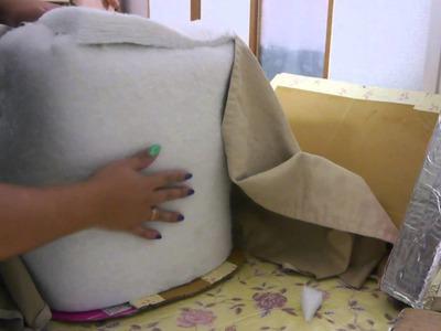 Manualidades: Mini sofá con forma de zapato - Juancarlos960