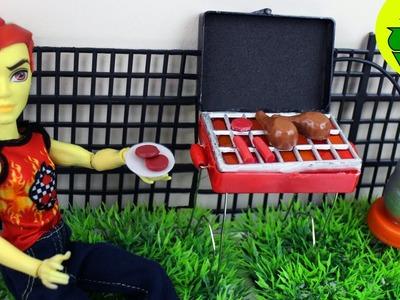 Manualidades para muñecas: Haz una parrilla para muñecas - EP 740