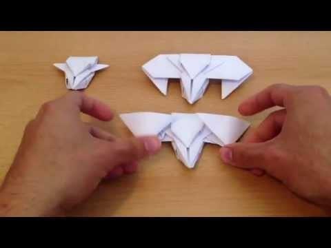 Origami: cómo hacer una nave espacial - figuras de papel con origami