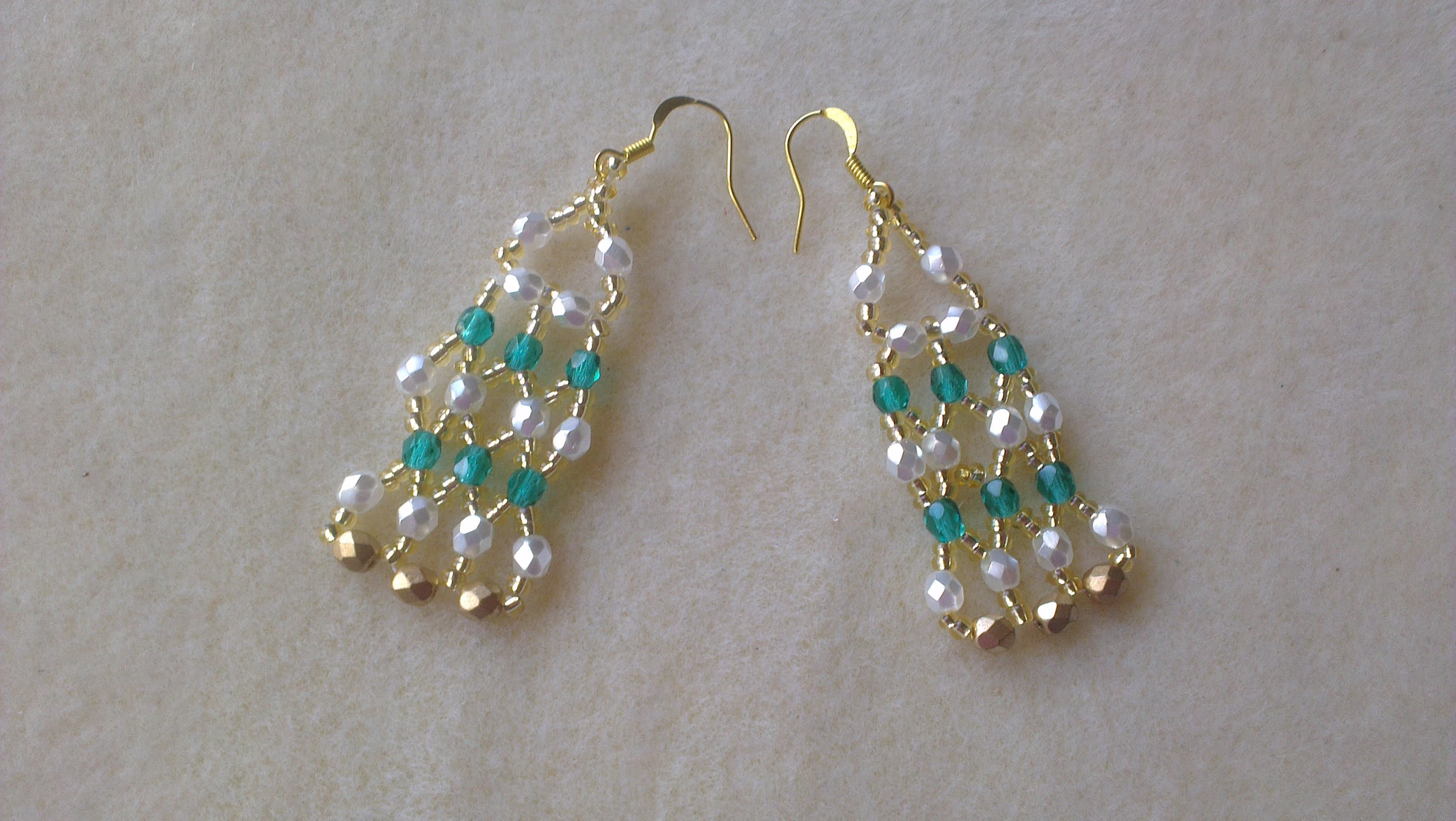 PENDIENTES NEFERTITI- NEFERTITI EARRINGS.