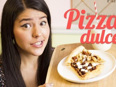 PIZZA DULCE |  COMO HACER PIZZA | RECETA MUSAS | LOS POLINESIOS