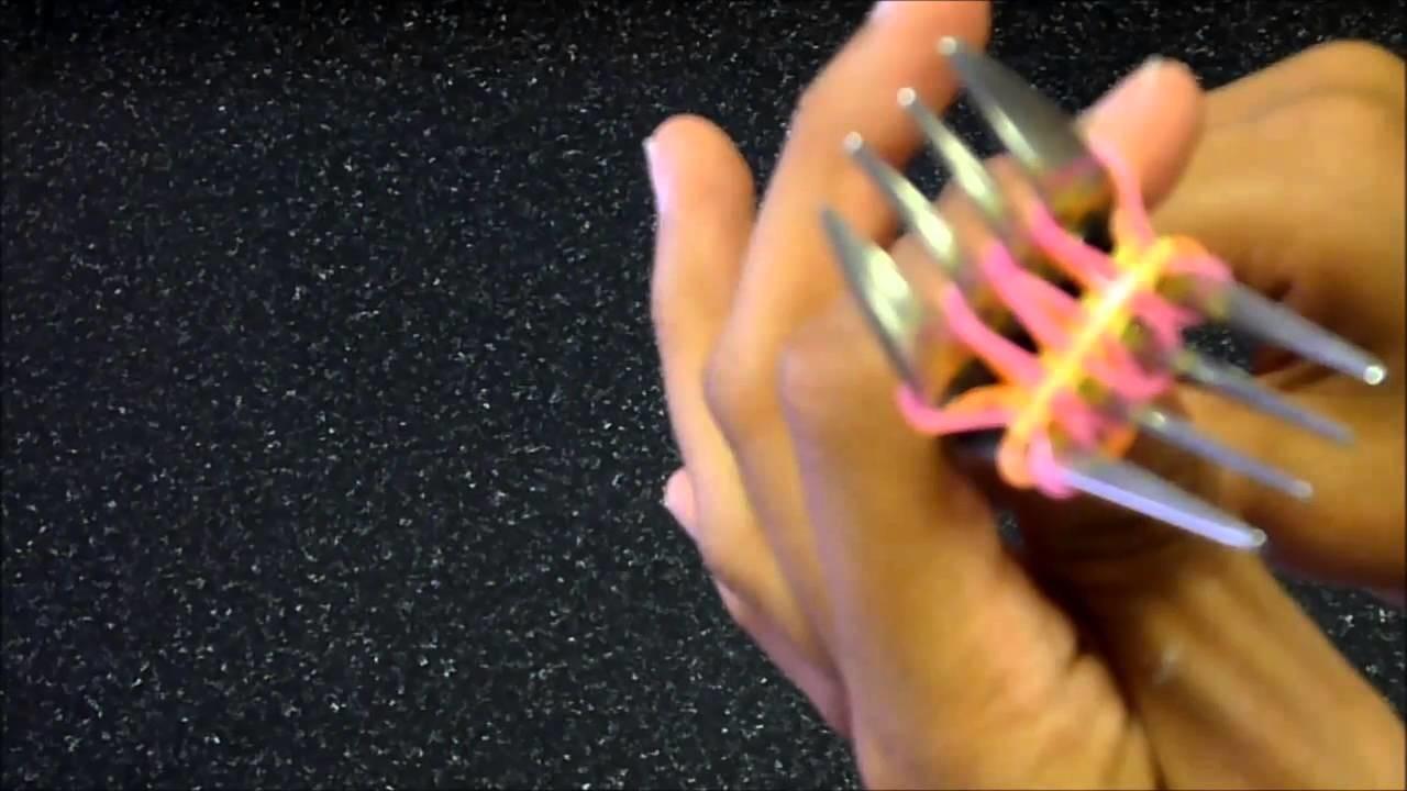 Pulsera de gomitas con dos tenedores