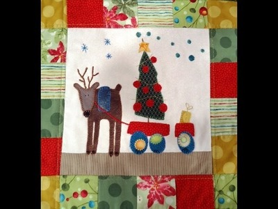 Quilting y Patchwork  -Como hacer un tapiz navideño Marcela Imerito - Maquinas de coser Brother