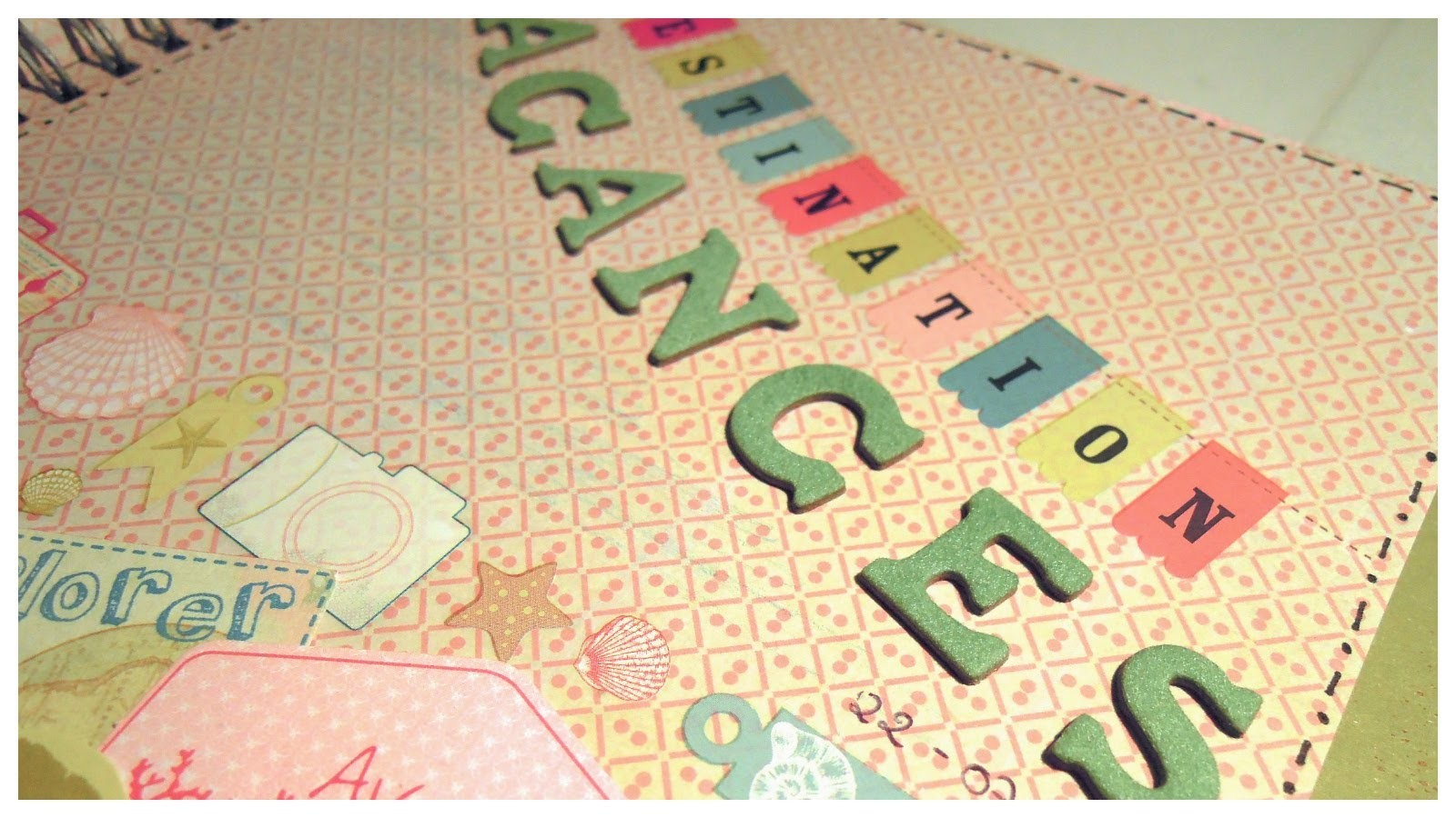 Smash Book Terapia: 22.07.13 *Cómo hacer un diario de Scrap* Smash book tutorial