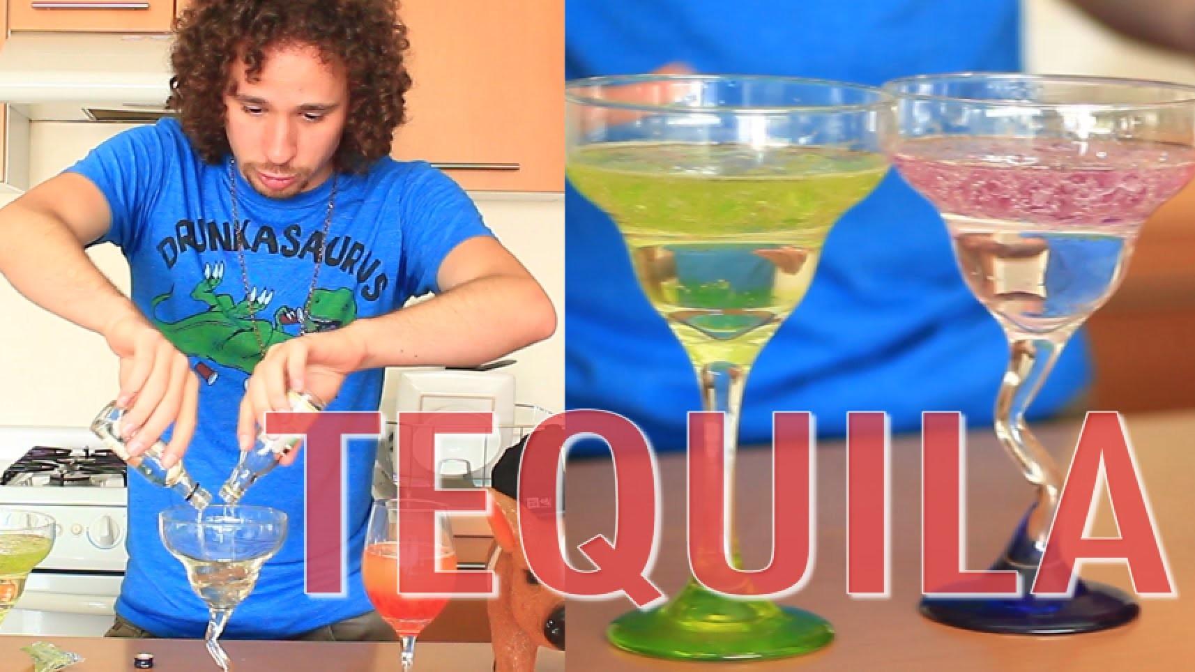 TEQUILA: El Hulk Borracho   Bebidas fáciles y mamadoras