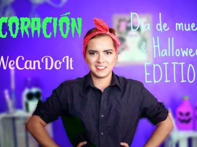 #51 DECORACIÓN | D.I.Y. ♥ →Día de muertos. Halloween EDITION ♥