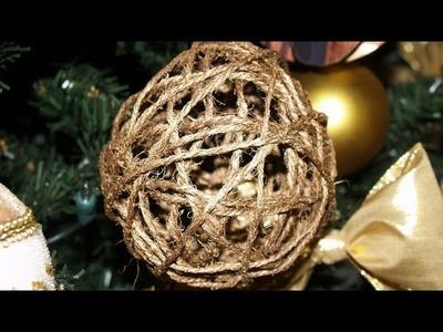 Adornos para el Árbol de Navidad 4: Esferas de Hilo - Christmas Tree Decoration 4: Thread Spheres