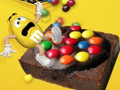 BROWNIES CON M&M'S # 258 #