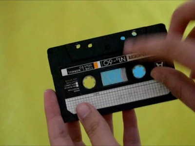 Carta en forma de cassette - Muy original