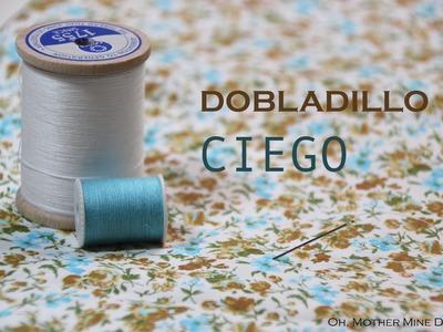 Clase costura 9: Dobladillo invisible
