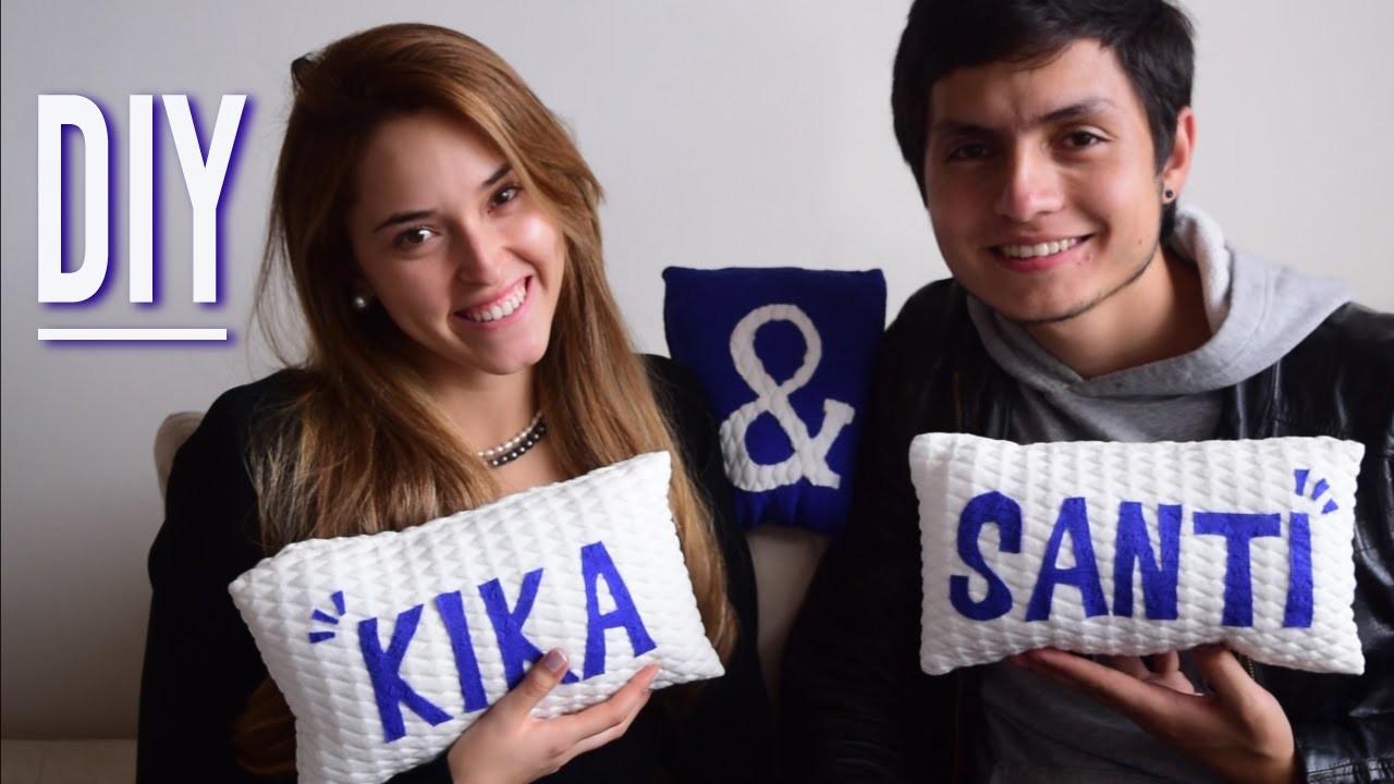Cojines para Dummies! ♥ (DIY)   Kika Nieto