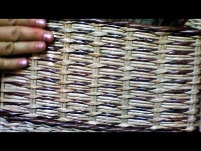Combinacion del tejido indiano con una cuerda