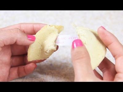 Cómo hacer Galletas de la suerte:  receta de galletas de la fortuna ✎ Craftingeek