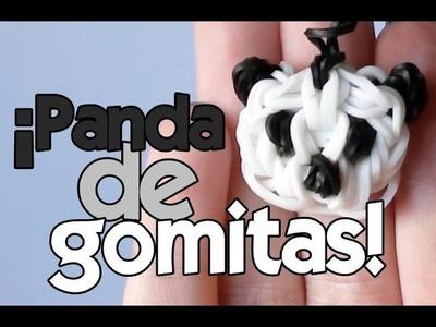 Cómo hacer un PANDA de GOMITAS (con 2 tenedores)