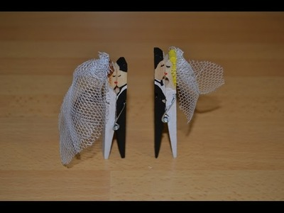 Cómo hacer un souvenir para bodas con pinzas | facilisimo.com