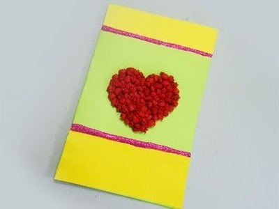 Como hacer una tarjeta utilizando papel de seda