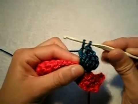 Como tejer el Punto Popcorn en tejido crochet.