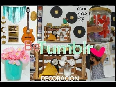 DIY: DECORA TU CUARTO! ✿ [ 9 Ideas Fáciles] ♥ Be Tumblr ♥