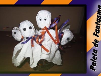 DIY: Paleta de Fantasma especial Halloween