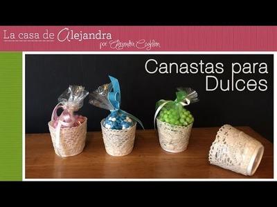 Fáciles y Lindas Canastas para Dulces DIY Alejandra Coghlan