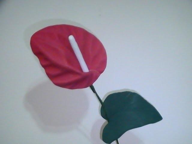 Flores en goma eva - Flor de Anturio