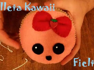 Galleta Kawaii de Fieltro.